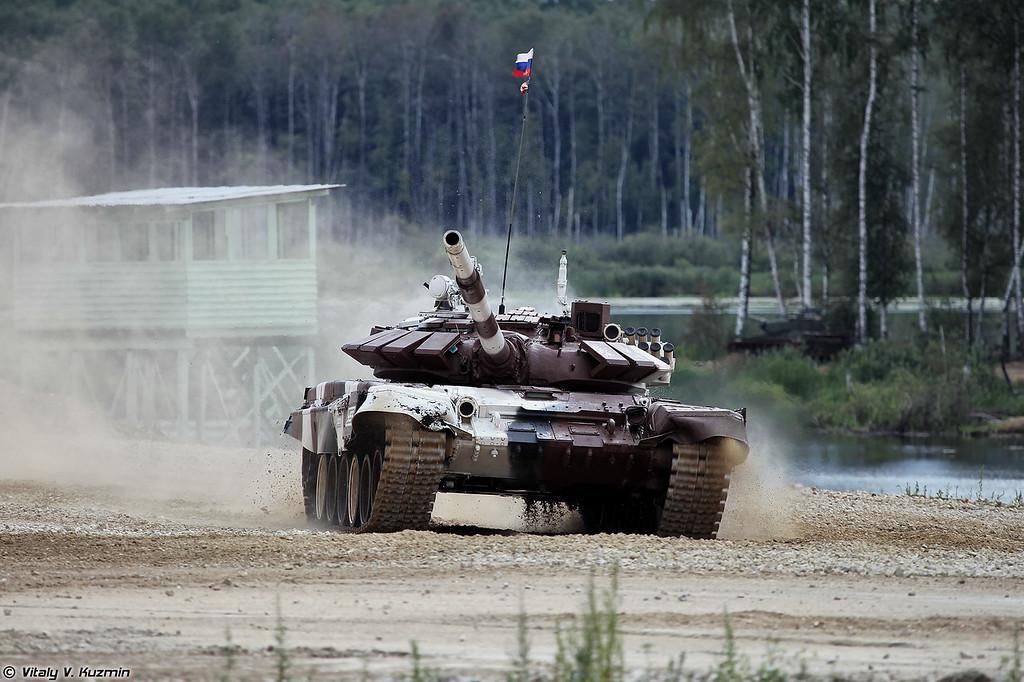 Т-72Б3 российской команды (Russian team T-72B3)