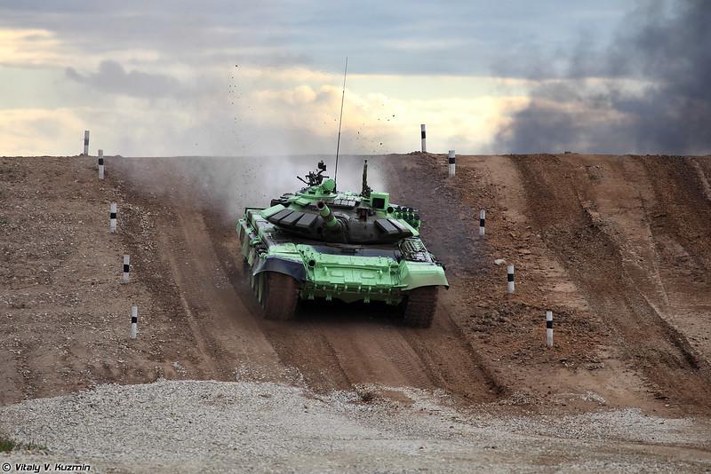 Т-72Б3 сербской команды (Serbian team T-72B3)