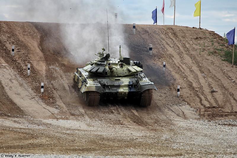 Т-72Б3 казахской команды (Kazakhstan team T-72B3)