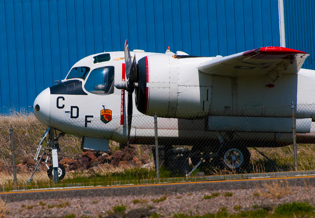 Grumman C-1 Trader is a carrier on-board delivery (COD)<br /> California