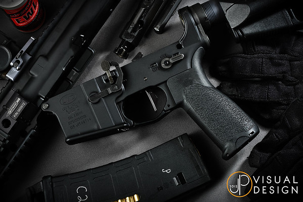 The new BCM Gunfighter Grip Mod 1! I was very excited for the Magpul MOE-K grip when it was first announced, but once I actually got one I found it far too small and slippery.  While the BCM grip is still a tad too small in circumference, it is a big improvement in grip angle for my shooting style!