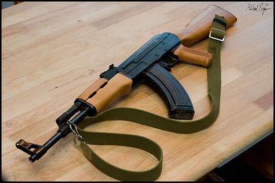 My Norinco MAK-90 milled AK-47 clone. Ironwood Designs furniture in American Hard Rock Maple, finished with natural finish Watco Danish Oil for a nice blonde look!