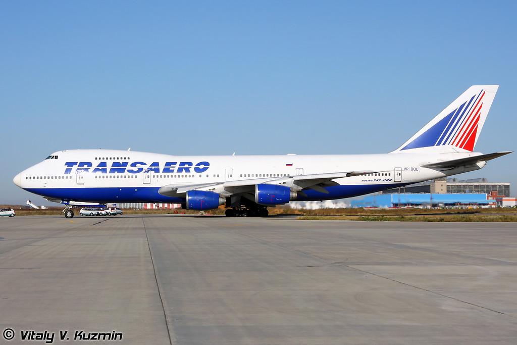 Boeing 747-200B Transaero
