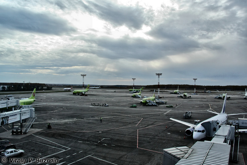 Стоянка S7 (S7 airlines parking)