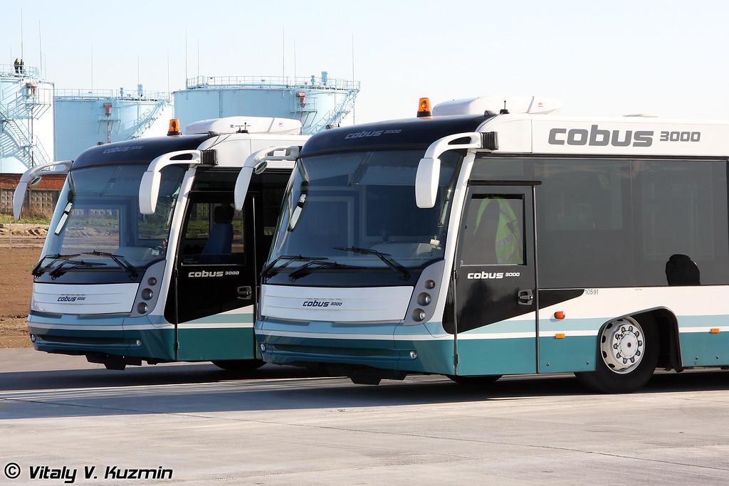 Перронные автобусы COBUS 3000