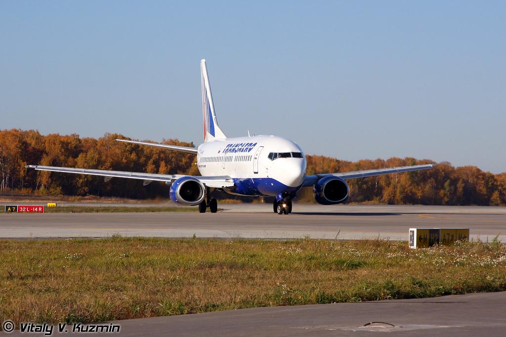 Boeing 737-500 Transaero