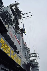 Flag Mast area on Midway