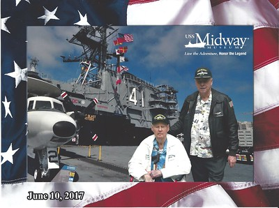 Flag Day 2017 on USS Midway