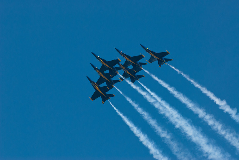 Flying in Formation... Inverted!