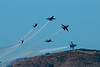 Blue Angels perform precise maneuvers