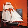 Model of a slaving ship
