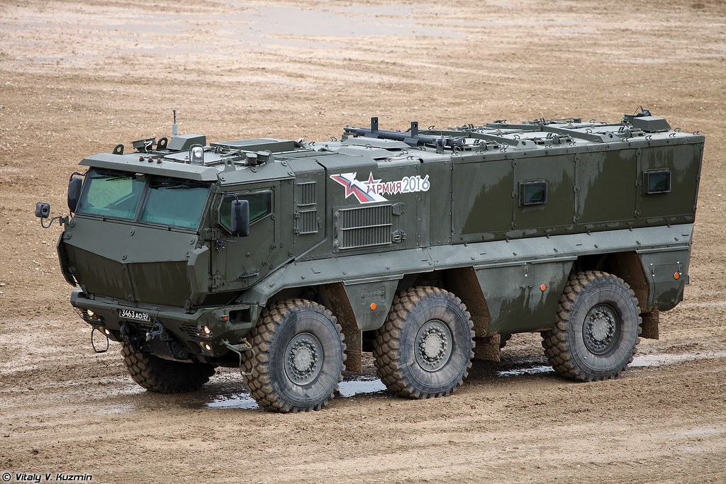 КАМАЗ-63968 Тайфун-К (KAMAZ-63968 Typhoon-K MRAP vehicle)