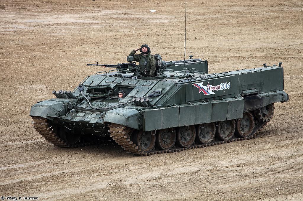 Боевая машина огнемётчиков БМО-Т (BMO-T heavy armored personnel carrier)