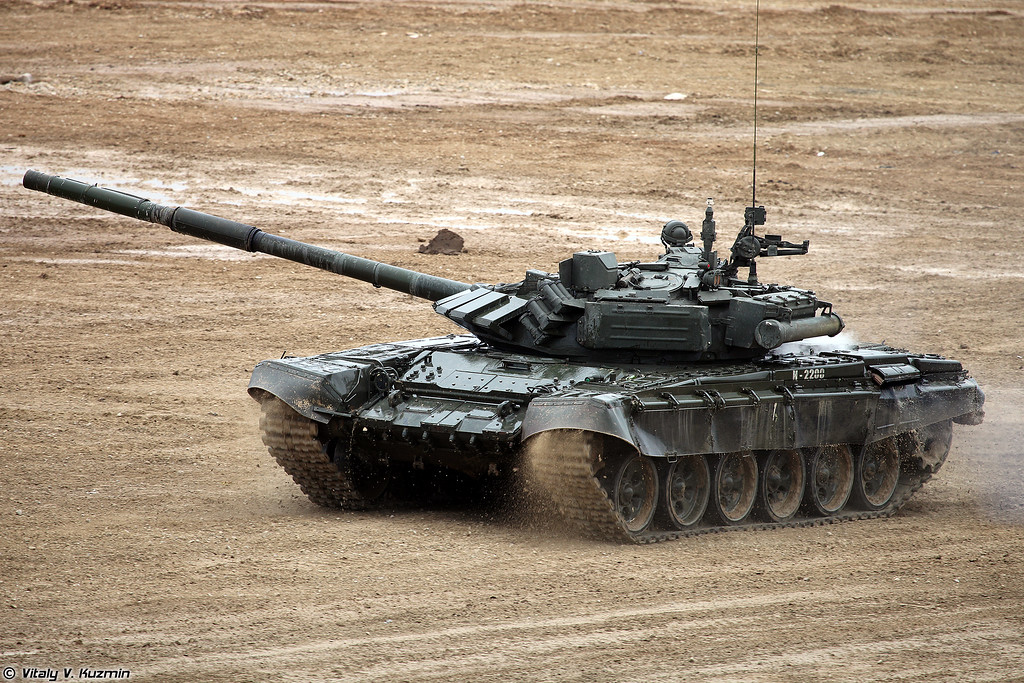 Танк Т-72Б3 (T-72B3 main battle tank)