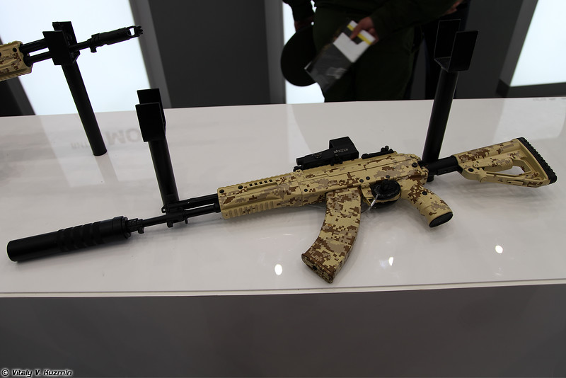 7,62х39 автомат АК-15 6П71 (7.62mm AK-15 6P71 assault rifle)
