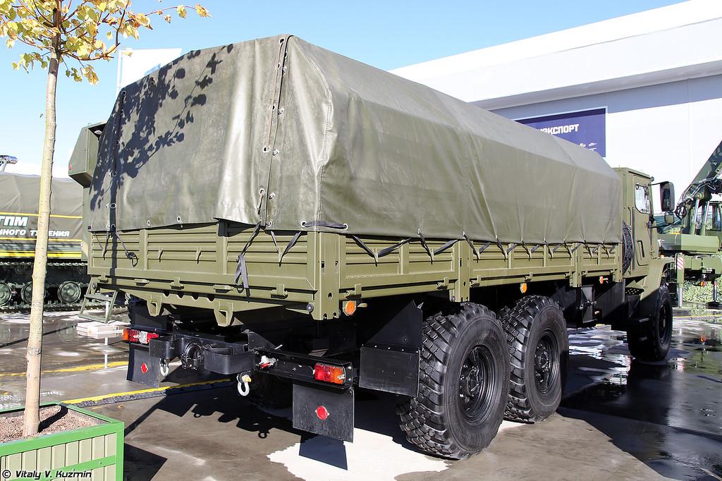 Защищенный автомобиль Урал-4320 Мотовоз-М (Ural-4320 Motovoz-M armored truck)