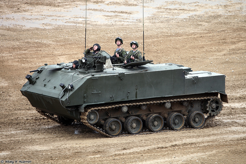 Бронетранспортер БТР-МДМ (BTR-MDM armored personnel carrier)