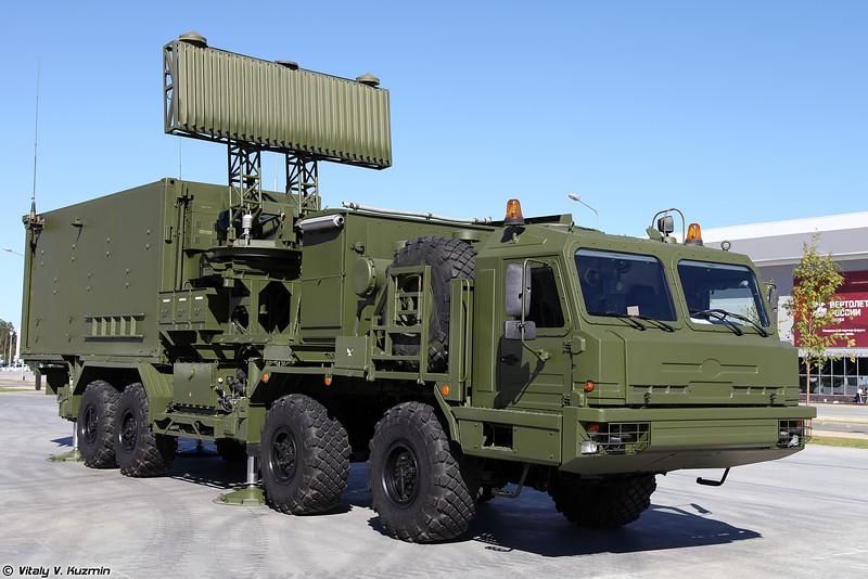 РЛК 55Ж6М Небо-М - Кабина управления КУ РЛК (55Zh6M Nebo-M radar system - KU RLK control post)