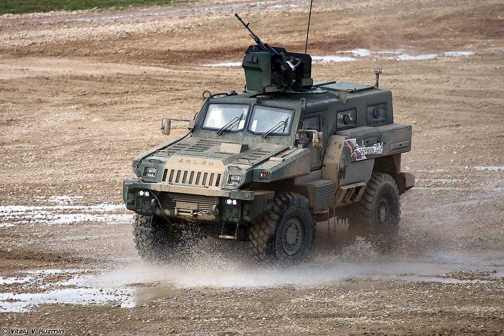 Бронеавтомобиль Арлан (Arlan armored vehicle)