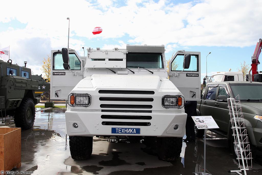 Бронеавтомобиль Горец-М (Gorets-M armored vehicle)