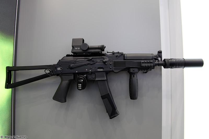 Пистолет-пулемет Витязь-МО (Vityaz-MO submachine gun)