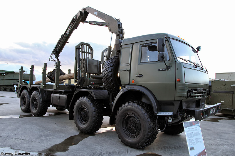 Войсковой мобильный лесопильный комплекс ВМЛК-1 (VMLK-1 mobile sawmill)