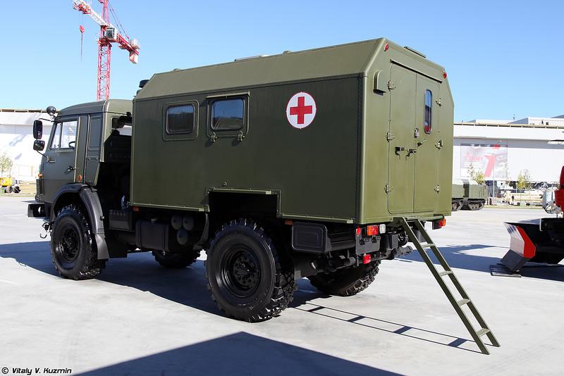 Санитарный автомобиль АС4350 (AS4350 medical vehicle)