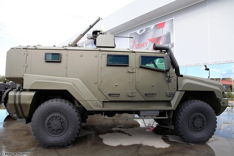 Бронеавтомобиль КАМАЗ-53949 Тайфун-К (KAMAZ-53949 Typhoon-K MRAP)