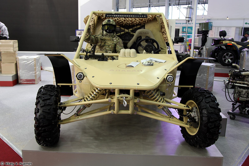 Легкий многоцелевой багги Алабай (Light tactical vehicle Alabay)