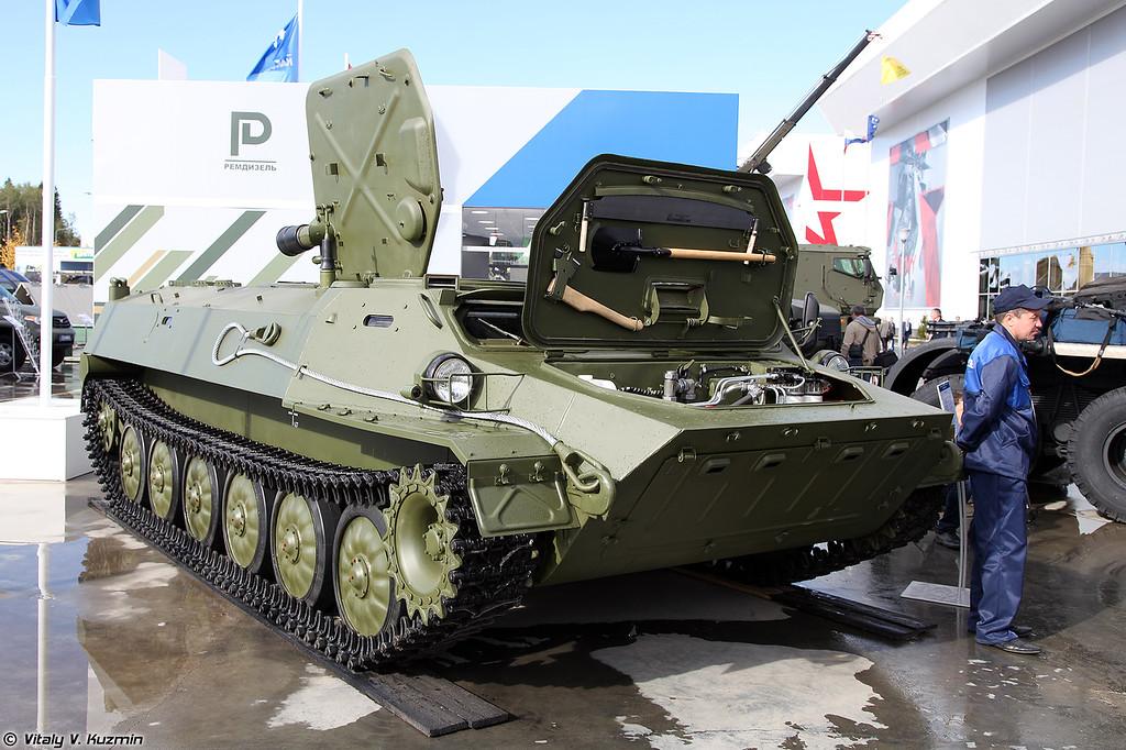 Многоцелевое легкое бронированное плавающее шасси МЛБШ изделие 7 (MLBSh item 7 multipurpose chassis)
