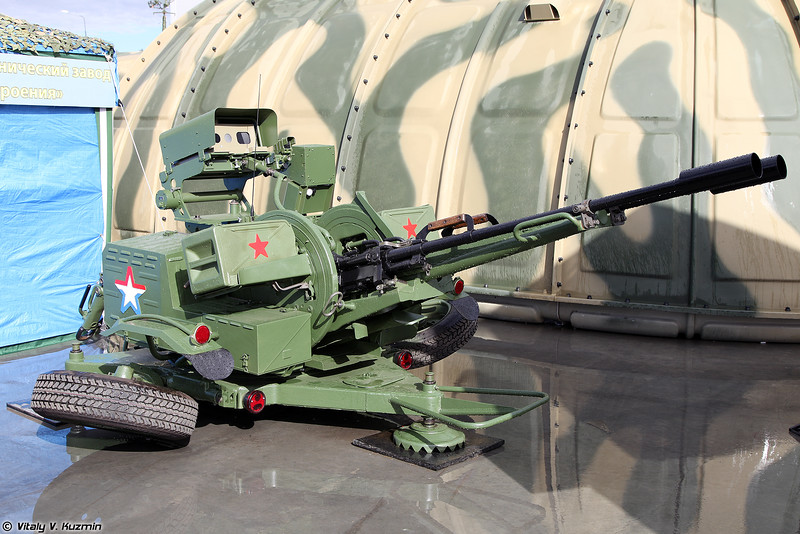 Установка ЗУ-23/30М1-4 (ZU-23/30M1-4 upgraded system)