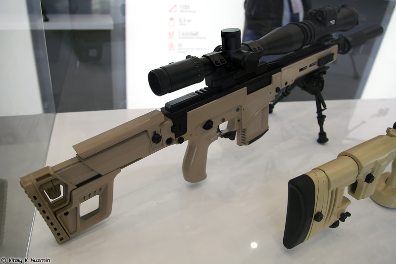 Снайперская винтовка СВК (SVK sniper rifle)