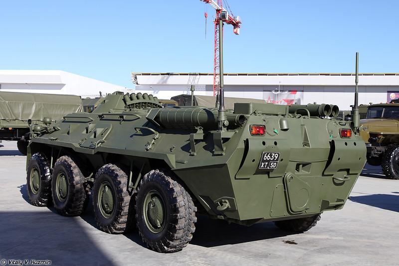 Унифицированная командирская машина Р-149МА3 (R-149MA3 command vehicle)