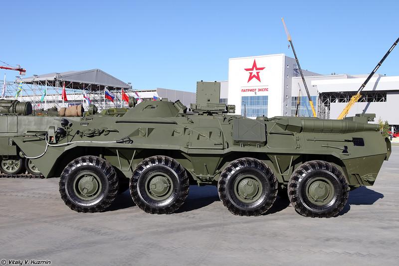 Разведывательная химическая машина РХМ-6 (RKhM-6 NBC reconnaissance vehicle)