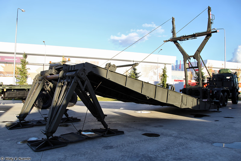 Тяжелый механизированный мост ТММ-3М2 (TMM-3M2 bridge)
