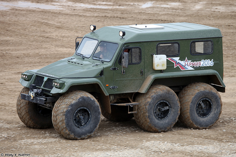 ТРЭКОЛ-39294 (TREKOL-39294 all-terrain vehicle)