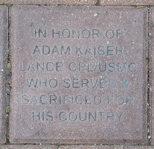 Fredenhagen Memorial Bricks - Adam Kaiser
