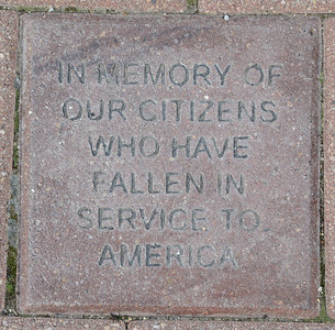 Fredenhagen Memorial Bricks - Citizens Who Have Fallen