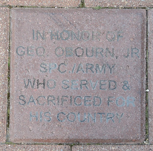 Fredenhagen Memorial Bricks - George Obourn