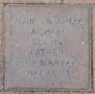 Fredenhagen Memorial Bricks - Michael Slavin
