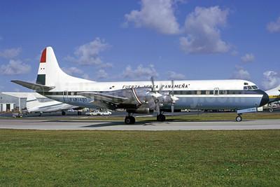 Fuerza Aérea Panamena Lockheed 188C Electra FAP-400 (msn 2022) MIA (Bruce Drum). Image: 105342.