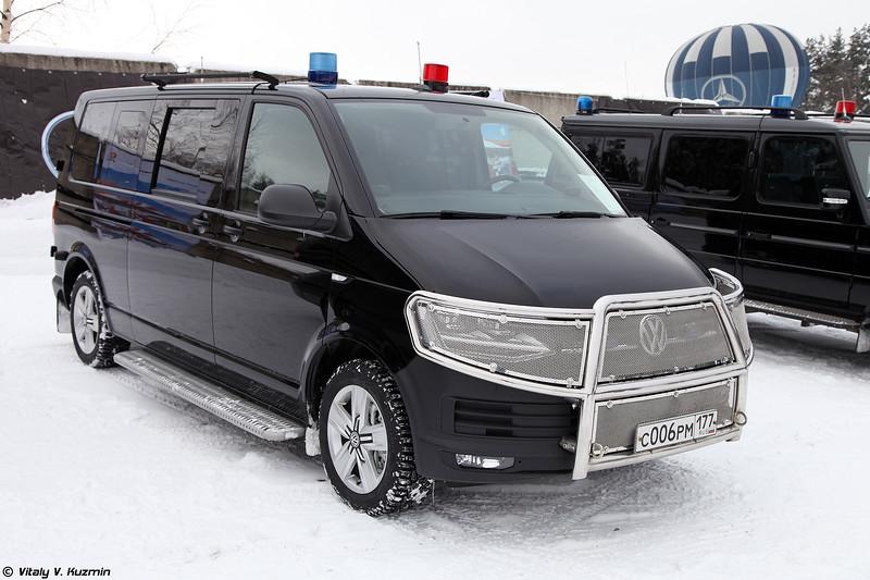 Volkswagen Transporter T6 в специальной комплектации для ФСО (Volkswagen Transporter T6 special edition for FSO)