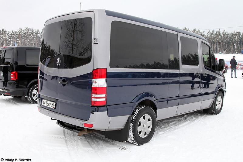 Бронированный Mercedes-Benz Sprinter 524 в специальной комплектации для ФСО (Armored Mercedes-Benz Sprinter 524 special edition for FSO)