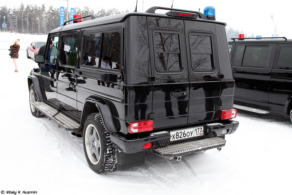 Mercedes-Benz G-XXL BINZ в специальной комплектации для ФСО (Mercedes-Benz G-XXL BINZ special edition for FSO)