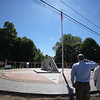 Dedication ceremony for the Middlesex G.W.O.T. Veteran's Monument in Pepperell, honoring service members who sacrificed in the post 9/11 Global War on Terror. (SUN/Julia Malakie)