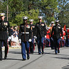 20081103-M-8689P-001 - Gen. James T. Conway, 34th Commandant of the Marine Corps, along with Sgt. Major Carlton W. Kent, 16th Sergeant Major of the Marine Corps, lead Marines from Marine Barracks Washington during Gen Robert H. Barrows' funeral in St. Francisville, La., Nov. 3.  Barrows, the 27th CMC, a veteran of three wars, with more than 40 years of service, passed away Oct. 30.