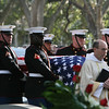 20081103-M-8689P-003 - The U.S. Marine Corps Body Bearers from Marine Barracks Washington carry Gen. Robert H. Barrows during his funeral in St. Francisville, La., Nov. 3.  Barrows, the 27th CMC, a veteran of three wars, with more than 40 years of service, passed away Oct. 30.