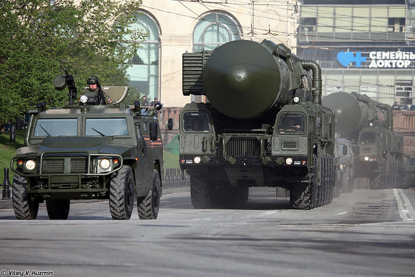 General rehearsal of 2016 Moscow Victory Day Parade