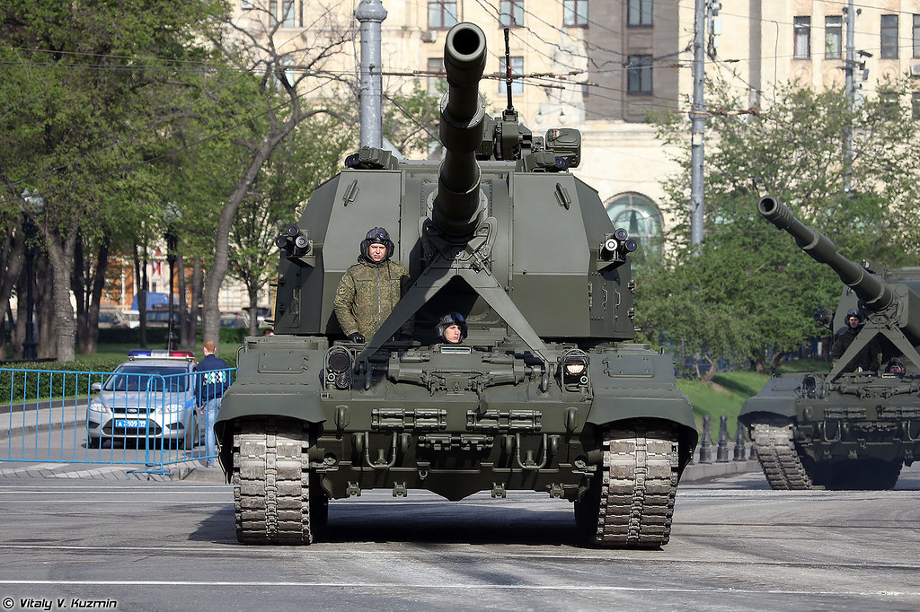 САУ 2С35 Коалиция-СВ (Self-propelled gun 2S35 Koalitsiya-SV)