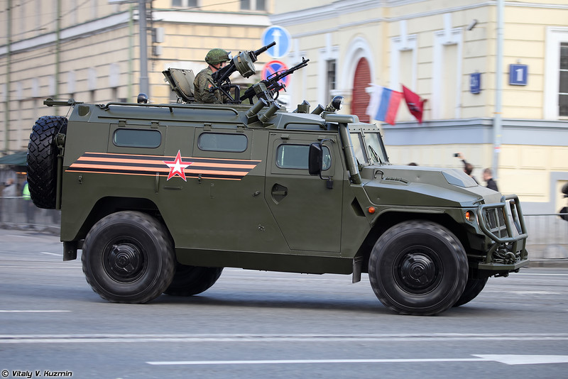 Бронеавтомобиль АCН 233115 Тигр-М СпН (ASN 233115 Tigr-M SpN armored vehicle)
